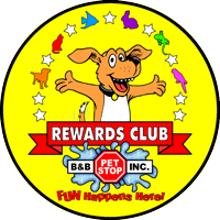 B&B Pet Stop Rewards Club