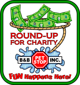 Round-Up for Charity