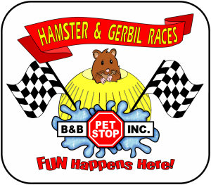 Hamster and Gerbil Races on April 18TH at NOON