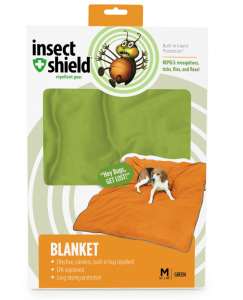 After a romp outside, just wrap your pet in this blanket for a minute or two and knock the fleas out!
