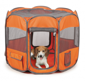 How about an Insect shield ex-pen for that flea-infested litter of puppies or kittens!  there are very few options for treating young pets with fleas or ticks - but your babies will be protected in this thing!