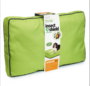 Insect Shield Ultra Bed at B&B Pet Stop.  (this is the cushy one)