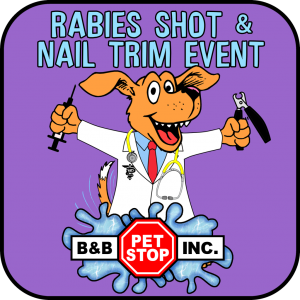 Rabies Shot & Nail Trim Event