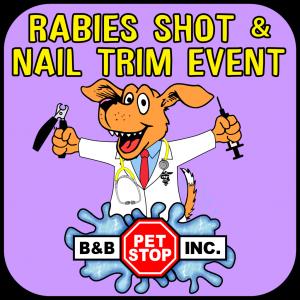 Rabies Shot & Nail Trim Event